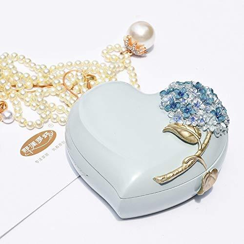 LVV Home Resin Love Hydrangea Jewelry Box/Creative Pastoral Style Ring Storage Box Decoration Birthday Gift by Hotin (Image #3)