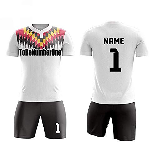 best sneakers 9795b 285ee Amazon.com: Custom Germany Concept Soccer Team Jerseys ...