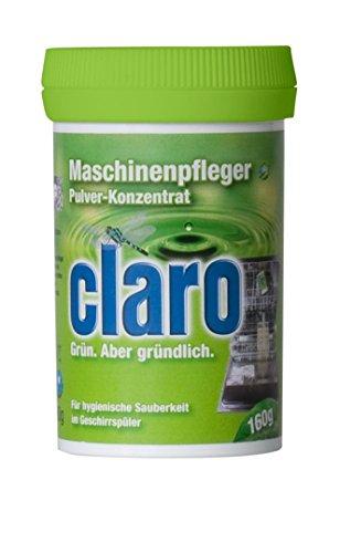 claro umweltschonender Maschinenpfleger Pulver Konzentrat Maschinen Reiniger - 1 Stück 160g