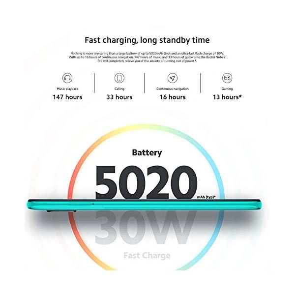 Xiaomi Redmi Note 9 Pro – Smartphone de 6.67″ (DotDisplay, 6 GB RAM, 128 GB ROM, 64 MP AI Quad cámara, batería de 502 0mAh) Interstellar Grey [Versión global]