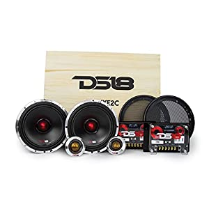 "DS18 DELUXE2C Deluxe 6.5"" 2-Way Component Car Audio Sound Quality Speaker System"