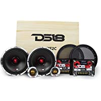 DS18 DELUXE2C Deluxe 6.5 2-Way Component Car Audio Sound Quality Speaker System