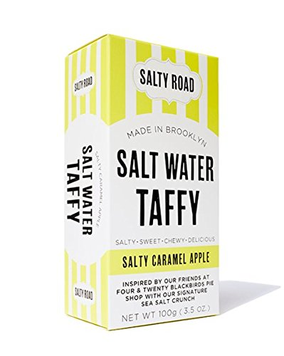 Salty Road Gourmet Saltwater Salted Caramel Apple Taffy 3.5