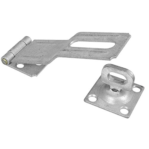 National Hardware N103-069 V32 Swivel Staple Safety Hasp in -
