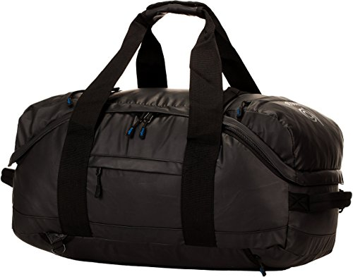 Bago Field Duffel Bag / Backpack. Travel Tactical Duffle For Army Camping (Black