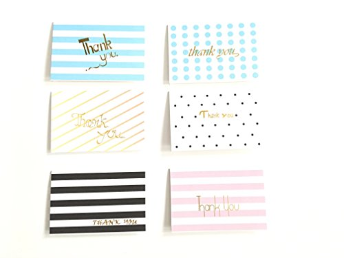 Timemorry Thank You Cards with Different Designs- Envelopes Included- for Thanksgiving Day, Christmas,Festivals and Parties (6-Designs, 15x10cm) (Christmas Inspirational Thoughts)