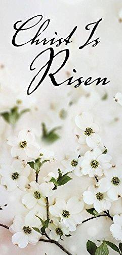 Christ Is Risen Dogwood Easter Offering Envelope (Pkg of ()