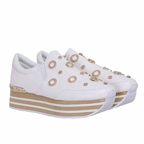 Versace Jeans Damen Sneaker Bianco