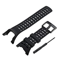 Baoblaze Black Premium Waterproof Watchband Replace for SUUNTO Ambit1/Ambit2/Ambit3