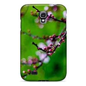 Ljsxaox6044ZVEwo Pink Buds Bokeh Fashion Tpu S4 Case Cover For Galaxy by Maris's Diary