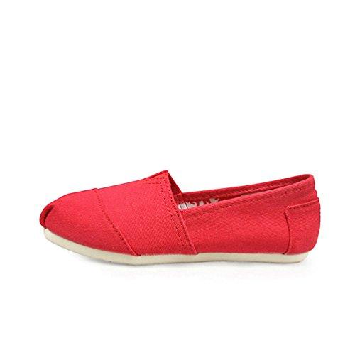 Casual Classic Rossa Chenyang Unisex Slip Mocassini Da Tela Guida Eleganti Loafers Anguria On Scarpe Di FdqvwZdxg