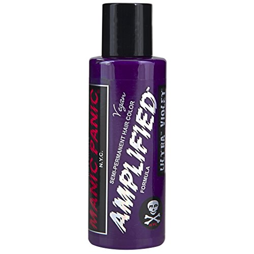 Manic Panic Amplified Hair Color, Ultra Violet, 4 -