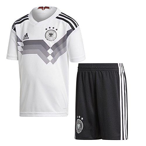 adidas Kids Unisex Soccer Germany Home Mini Kit (4T) (Germany Mini Soccer Ball)
