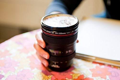 MEDIA WAVE store ® Taza para café o refresco en Forma de Objetivo ...
