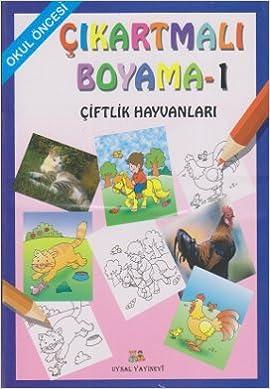 Okul Oncesi Cikartmali Boyama Seti 4 Kitap Takim 9789752621657