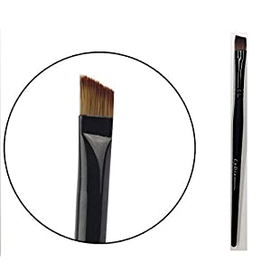 LyDia¨ UK STOCK Professional Black Flat Angled Eye Brow/Eyeliner/Eyeshadow Makeup Brush