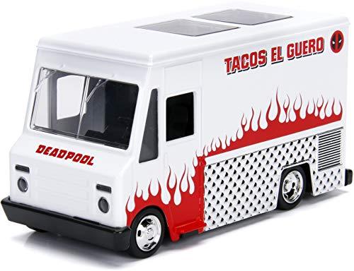 Deadpool Taco Truck White Marvel Series 1/32 Diecast Model Jada 99800