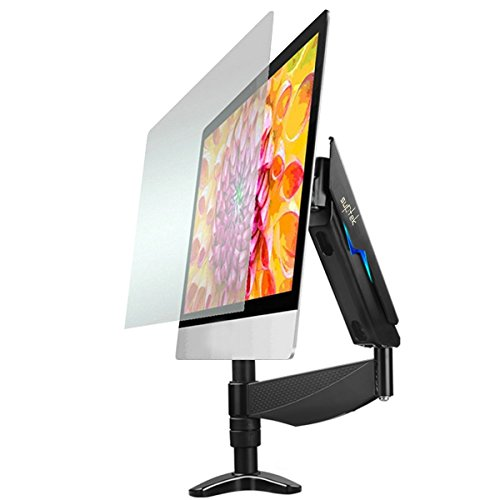 Single Lcd Monitor Gas Spring Desk Mount Fully Adjustable