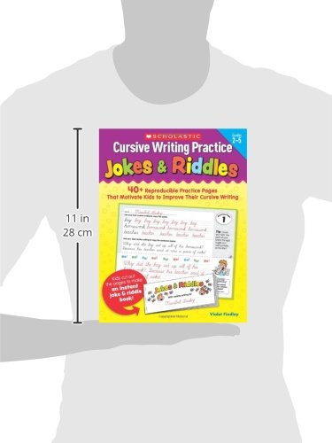 Cursive Writing Practice: Jokes & Riddles: Violet Findley ...