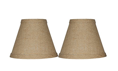 "Urbanest Chandelier Lamp Shade 3x6x5"", Hardback, Clip On, Bu"
