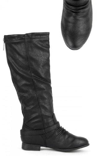 Top Moda Women's COCO 1 Knee High Riding Boot