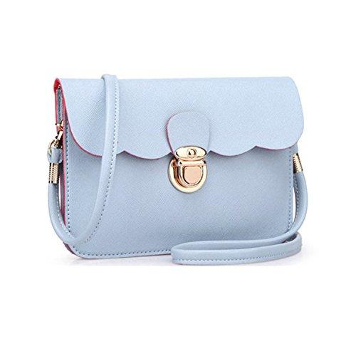 Shoulder Hobo Blue Purse Handbag Clutch Bags Yuan Leather Messenger Tote Womens Bag qP50CH