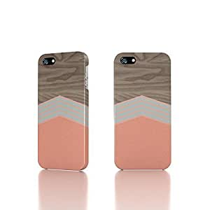 Apple iPhone 4 / 4S Case - The Best 3D Full Wrap iPhone Case - Wooden Texture Background