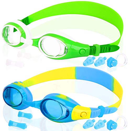 - COOLOO Kids Swim Goggles, Swimming Glasses for Children and Early Teens from 3 to 15 Years Old, Anti-Fog, Waterproof, UV Protection