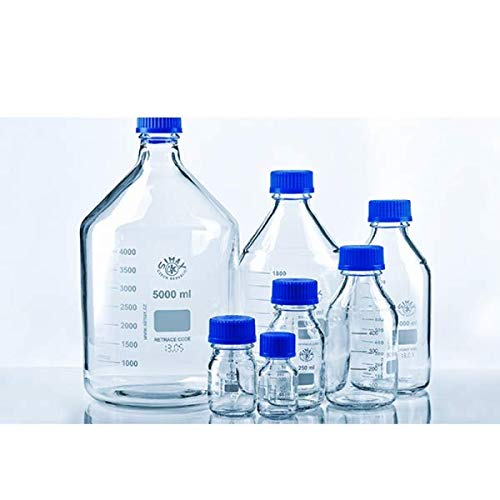 1 L Pack of 10 Simax 2070//1000 Reagent Glass Bottle