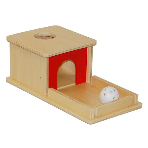 Top montessori object permanence box