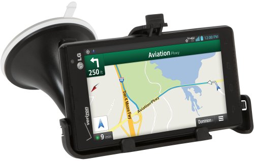 LG Electronics SCS-250 Navigation Mount for LG Lucid2 - Non-Retail Packaging - Black