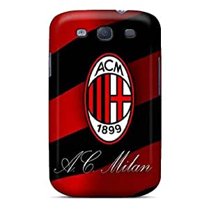 TimeaJoyce Samsung Galaxy S3 Great Hard Cell-phone Cases Unique Design Fashion Ac Milan Image [VbY14707HwxV]