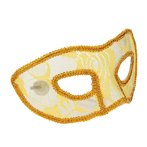 Women Men Venetian Masquerade Masks Prom Party Halloween Costume Sexy Eye Mask ()