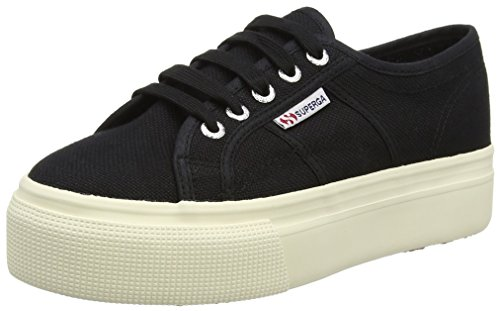 999 Donna Superga And Acotw Nero Linea Black 2790 Sneaker Up Down BfBRvr