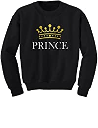 Prince Crown Gift for Son , Brother Little Boys Toddler/Kids Sweatshirts