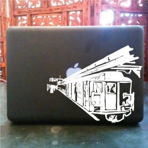 New York Subway vinyl decal Small © 2013 Laced Up Decals