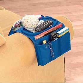 Amazon Com Sofa Over Arm Caddy Organizer Home Amp Kitchen