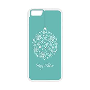 CHRISTMAS SNOWFLAKE ORNAMENT iPhone 6 4.7 Inch Cell Phone Case White Delicate gift JIS_344494