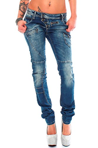 Jeans amp; 04 Baxx Attillata Donna Modell Cipo Pgq68P