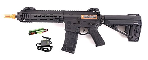 VFC VR16 Avalon Full Metal Calibur CQC 6mm Airsoft Carbine ( Battery and Charger (Vfc Full Metal)