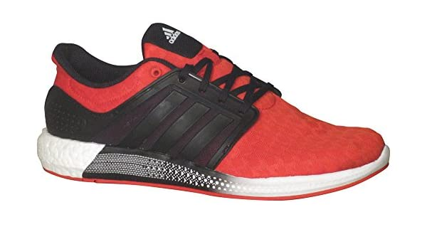a652972cbc2b Amazon.com  adidas Solar Boost RNR Shoes - Scarlet Red Core Black White -  Mens - 8.5  Clothing