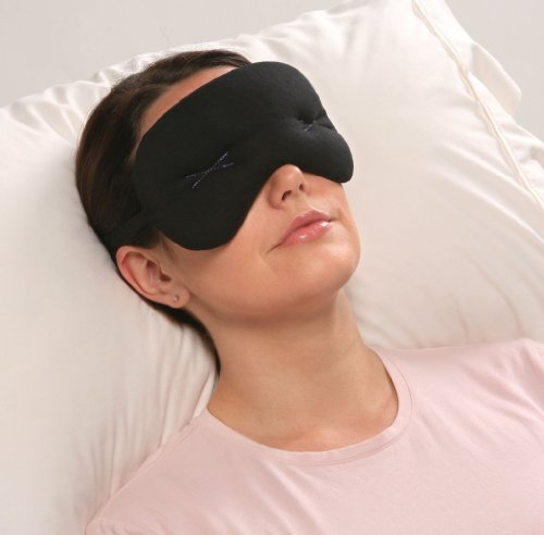 IMAK Compression Pain Relief Mask and Eye Pillow, Cold Therapy for Headache, Migraine, and Sinus Pain, Patented, Universal Size