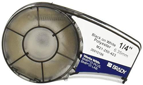 Brady M21-250-423 Cartridge,  B423 Permanent Polyester Material, 0.25