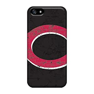 Best Hard Cell-phone Case For Iphone 5/5s (yrg12417QQgJ) Custom Colorful Cincinnati Reds Series