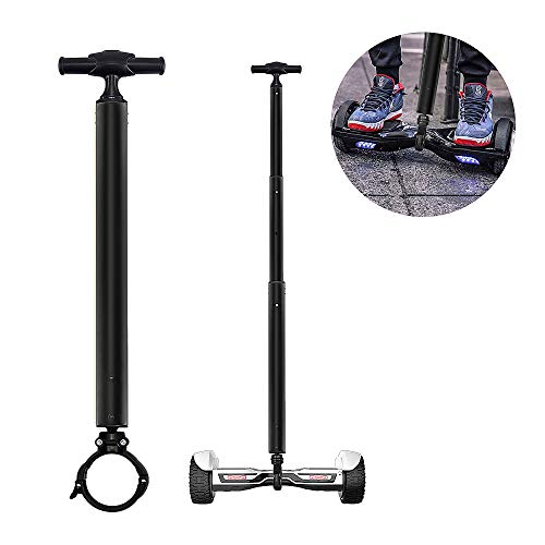 Locisne Stretchable Aluminum Alloy Balance Scooter Handle Bar, Smart Hover Scooter Support Handlebar, Beginners Electric Hoverboard Holder for 6.5