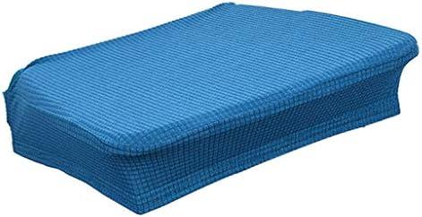 Generic チェアカバー 座面カバー ダイニングチェアカバー 防水 防汚 ホテル用品 全5色 - ブルー