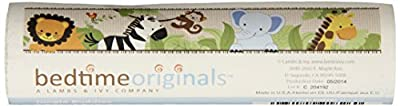 Bedtime Originals Jungle Buddies Wallpaper Border, Brown/Yellow