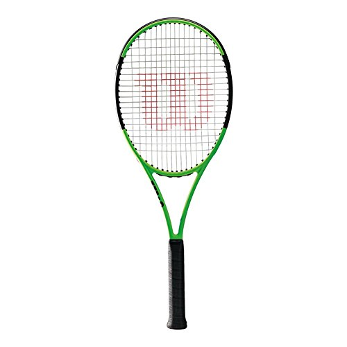Wilson Blade 98l 16x19 Limited Edition Tennis Racquet, Lime Green/Black (Edition Blades)