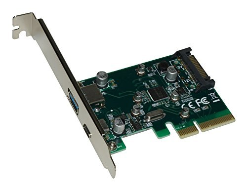 Xtrempro Pci-e To Usb 3.1 Type A + Type C Expansion Card Gen