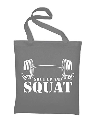 Shut Light Bag Styletex23bagshutupand8 Squat Bag Grey Bodybuilding Cotton yellow Jute Up Yellow And rqrWZ4wRF